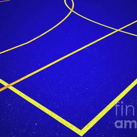 Overlapping Sports Blue by Norman Gabitzsch