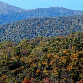 Overlooking the Blue Ridge by Arlane Crump