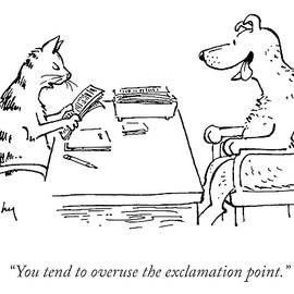 Overuse Of The Exclamation Point by Mike Twohy