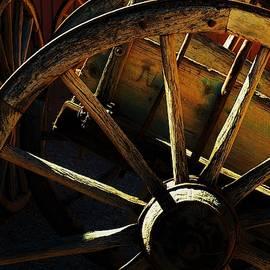 Ox Cart Sunrise by Frederick Hahn