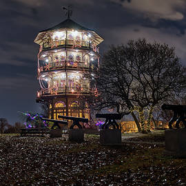 Pagoda And The Canons by Mark Dodd