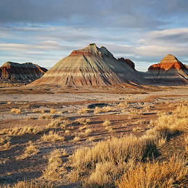 Evening At Painted Desert by Theo O'Connor