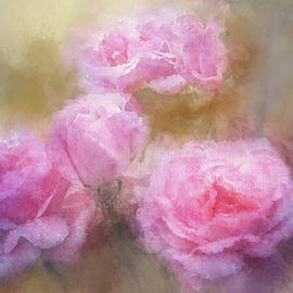 Painted Rose Bouquet by Terry Davis