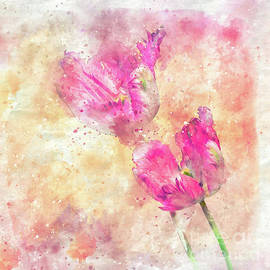 Painterly tulips by Flo Photography