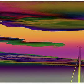 Painting on the Sky... - 7019 by Panos Pliassas