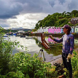 Painting Portree by Bonny Puckett