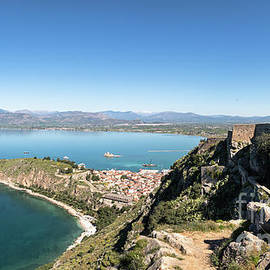 Palamidi Fortress In Nafplio, Greece by Didier Marti