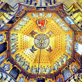 Palatine Chapel Ceiling, Aachen Cathedral by Douglas Taylor
