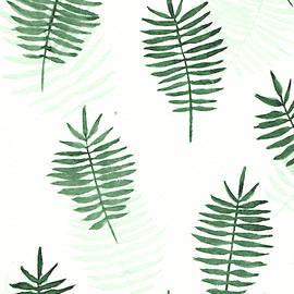Palm leaf pattern by Elena Gabbasova