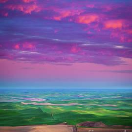 Palouse Fiery Dawn by Inge Johnsson