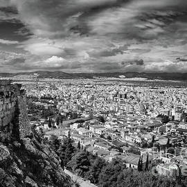 Panorama of Athens, Greece by Stefano Senise