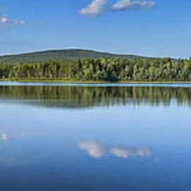 Panorama Of Watson Lake by Robert Bales