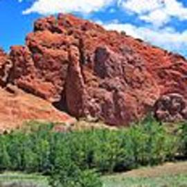 Panoramic Garden of The Gods by Suzanne Wilkinson