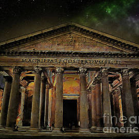 Pantheon Rome by Lutz Roland Lehn