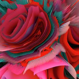 Paradise Rose. Beautiful rose of our dreams. by Elena Gantchikova