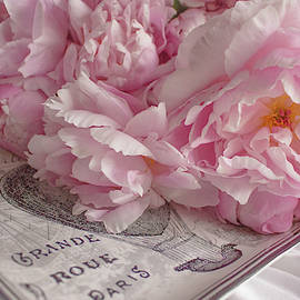 Paris Peonies by Nancy Jacobson