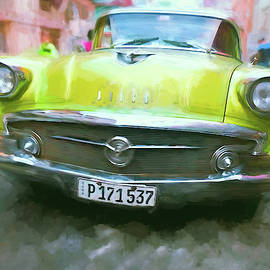 Parked in Havana Centro 2 by Claude LeTien