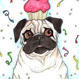 Party like a Pug by Julie McDoniel