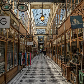 Passage Grand Cerf - Eyeglasses Shop by Gary Karlsen