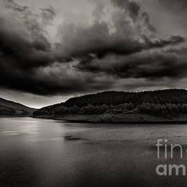 Passing Rainstorm by Bernd Laeschke