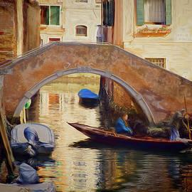 Passing Under Ponte Moro by Claude LeTien