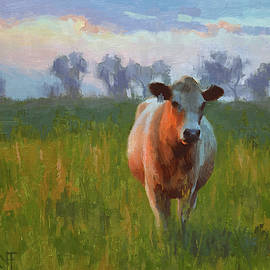 Pasture Bedtime by Larry DeGraff