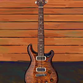 Pauls Guitar by Brad Burns