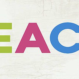 Peace In Color- Art By Linda Woods by Linda Woods