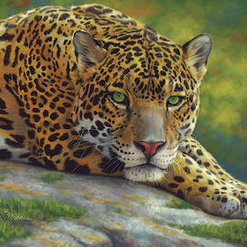 Peaceful Jaguar by Lucie Bilodeau