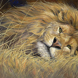 Peaceful King by Lucie Bilodeau