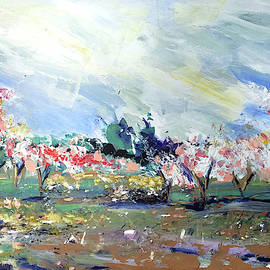Peach Trees by John Jr Gholson