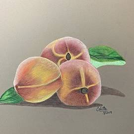 Peaches by Colette Lee