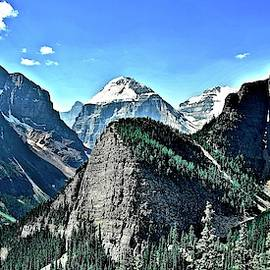 Peaks and Valleys in Banff by Frozen in Time Fine Art Photography