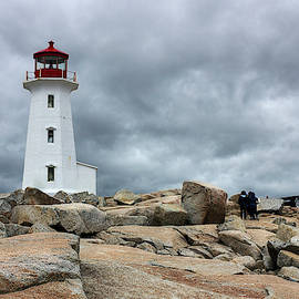 Peggy's Cove Lighthouse by Nicola Nobile