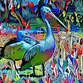 Pelican Heaven. by Trudee Hunter