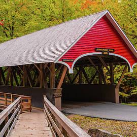 Pemigewasset River Covered Bridge by James Billings