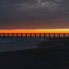 Pensacola Beach Sunset by Sharon Popek