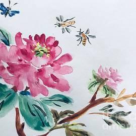 Peonies  by Lavender Liu