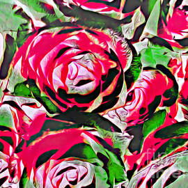 Petals of Red by Trudee Hunter