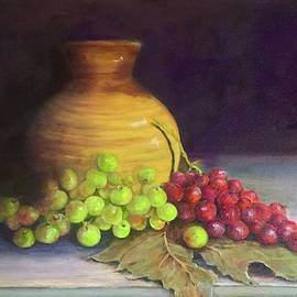 Peters Grapes by Anne Barberi