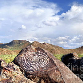 Petroglyph On Signal Hill by Douglas Taylor