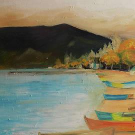 Pogradeci Lake by Anestin Varfaj
