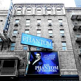 Phantom Of The Opera In Blue by Trina Ansel