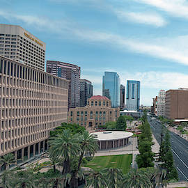 Phoenix Buildings Panoramic 5232-052514-4 by Tam Ryan