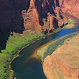 Photo Art Colorado River Arizona  by Chuck Kuhn