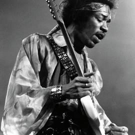 Photo Of Jimi Hendrix And Jimi Hendrix by David Redfern