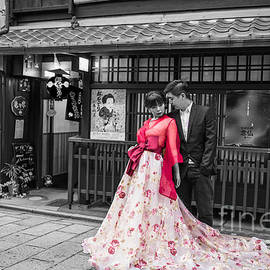 Eva Lechner - Photo Shooting in Gion