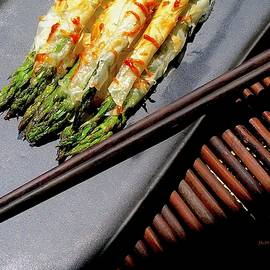 Phyllo Asparagus Blankets by James Temple
