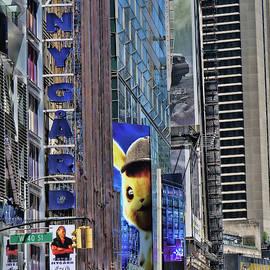 Pikachu Peeking by Allen Beatty