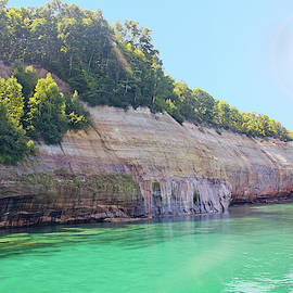 Pictured Rocks #3 - Colorful Cliffs by Patti Deters